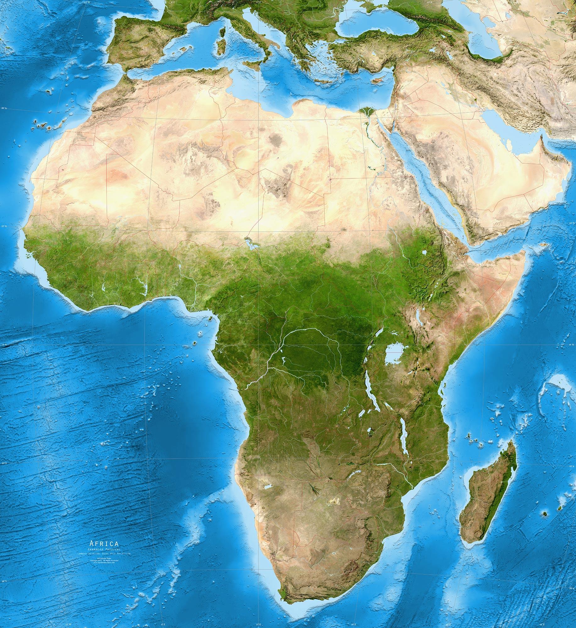 так картинки карт африки года актер был