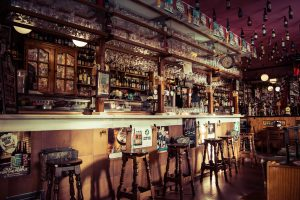 Bar in Madrid