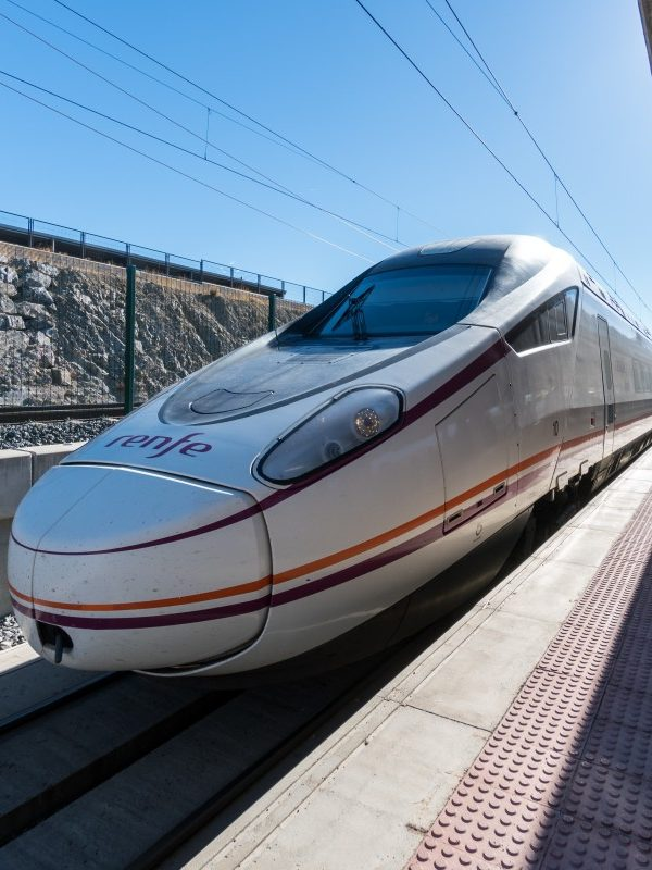 high speed train - ave - in Spain